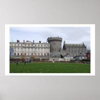 Castelo Ireland de Dublin Posteres