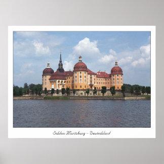 Castelo Moritzburg Poster