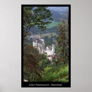 Castelo Neuschwanstein Poster