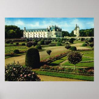 Castelo no Loire Pôsteres
