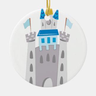 Castelo Ornamento De Cerâmica