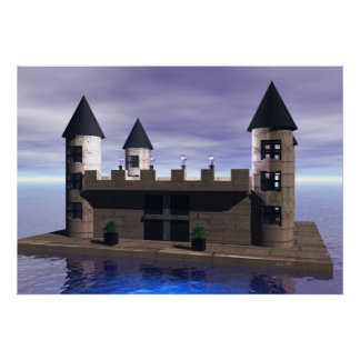 Castelo Pôster