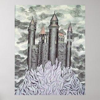 Castelo preto poster