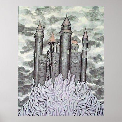 Castelo preto posteres