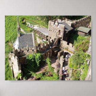 Castelo Rheinstein em Alemanha Posters