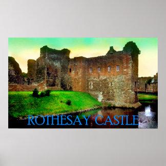 castelo rothesay pôster