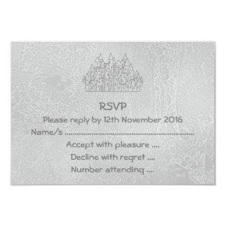 Castelo velho convite 8.89 x 12.7cm