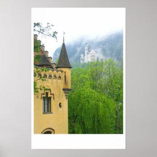 Castelos de Baviera Poster