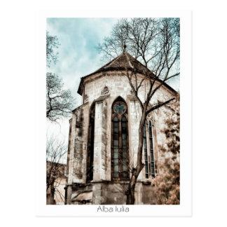 Catedral católica cartão postal