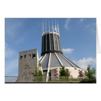 Catedral católica - Liverpool Cartão
