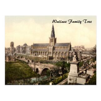 Catedral de Glasgow, Glasgow, Scotland Cartão Postal