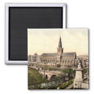 Catedral de Glasgow, Glasgow, Scotland Ímã Quadrado