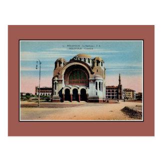 Catedral de Heliopolis o Cairo Egipto do vintage Cartoes Postais