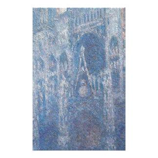 Catedral de Rouen, dia claro por Claude Monet Papelaria