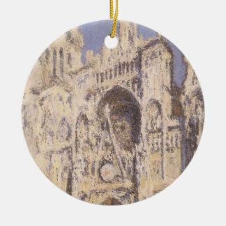 Catedral de Rouen, ouro azul da harmonia por Ornamento De Cerâmica