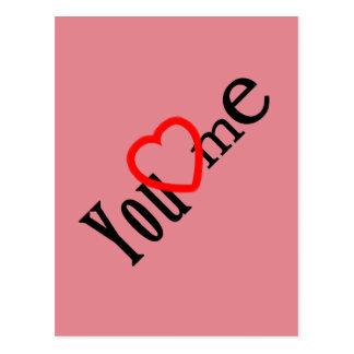 Categoria LOVE - variedades Cartão Postal