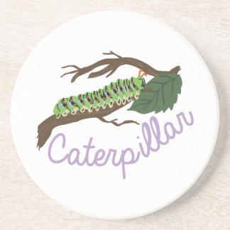 Caterpillar1 Porta Copos De Arenito
