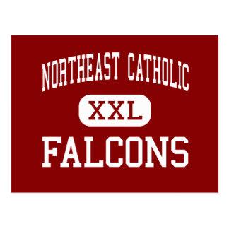 Católico do nordeste - Falcons - alto - Cartão Postal
