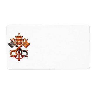 Católico Etiqueta De Frete