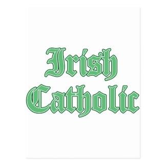 Católico irlandês cartão postal