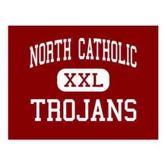 Católico norte - Trojan - alto - Pittsburgh Cartão Postal