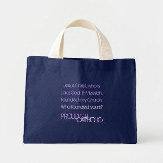 CATÓLICO ORGULHOSO de 2 B - as bolsas - Lavender/L