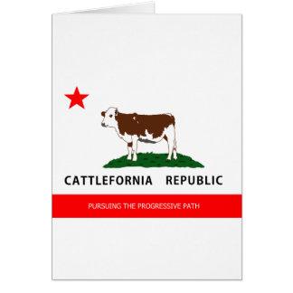 Cattlefornia.png Cartão Comemorativo