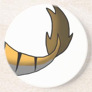 Cauda alaranjada do tigre/híbrido do dragão porta copos de arenito