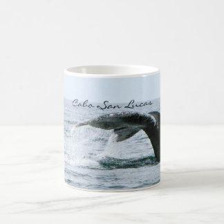 Cauda da baleia de Humpback, Cabo San Lucas Caneca De Café