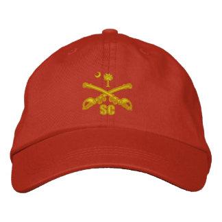 Cavalaria de South Carolina (bordada) Boné