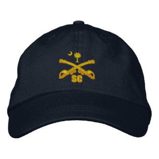 Cavalaria de South Carolina (bordada) Boné Bordado