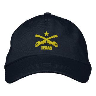 Cavalaria de Texas (bordada) Boné Bordado