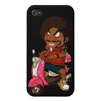 Cavaleiro de Hiphop iPhone 4 Capa