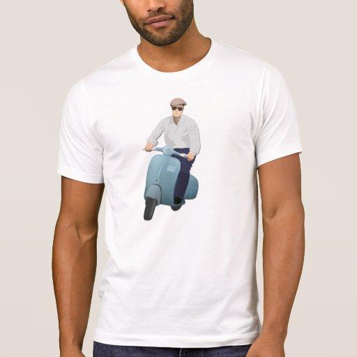 Cavaleiro retro camiseta