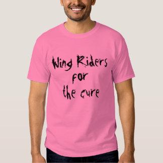 Cavaleiros da asa, para, a cura camiseta