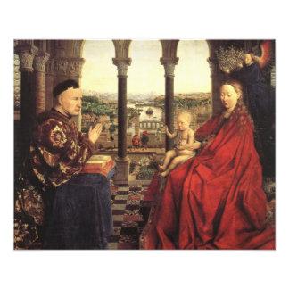 Cavaleiros do cristo (Altarpiece) de Ghent, Jan Flyer 11.43 X 14.22cm