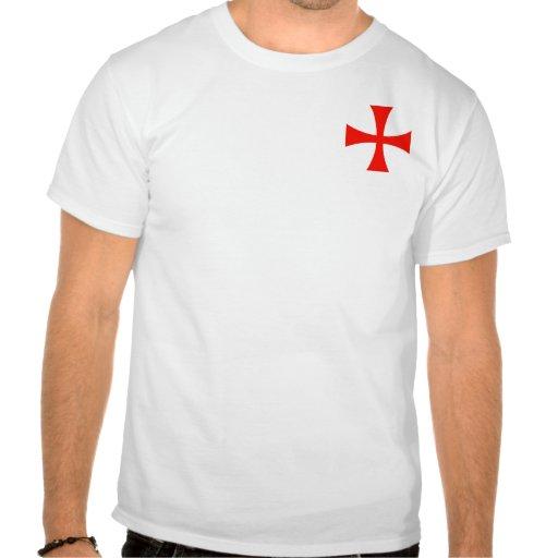 Cavaleiros pequenos Templar (estilo C) Camisetas