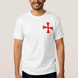 Cavaleiros pequenos Templar (estilo C) T-shirt