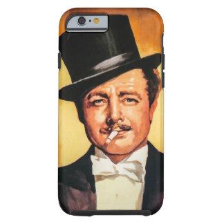 Cavalheiro retro capa tough para iPhone 6
