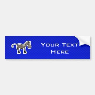 Cavalo bonito; Azul Adesivo Para Carro