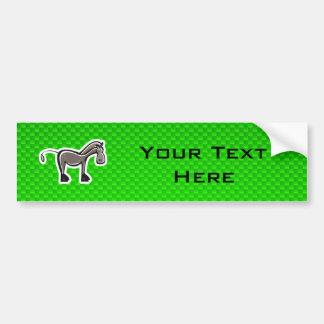 Cavalo bonito; Verde Adesivo Para Carro