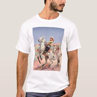 Cavalo Bucking Camisetas