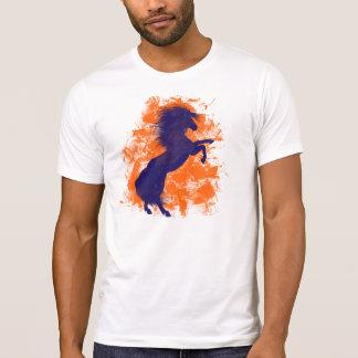 Cavalo Bucking dos broncos de Denver Camisetas
