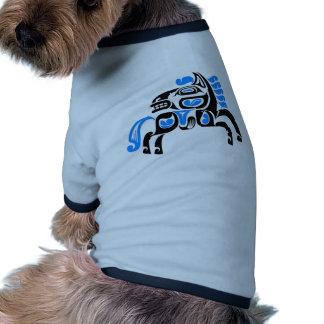 Cavalo Camisetas Para Caes