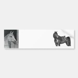 Cavalo cinzento adesivo