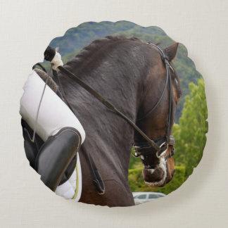 Cavalo com levantamento almofada redonda
