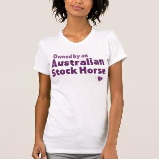 Cavalo conservado em estoque australiano camiseta