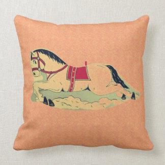 Cavalo de balanço almofada