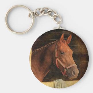 Cavalo do puro-sangue chaveiro