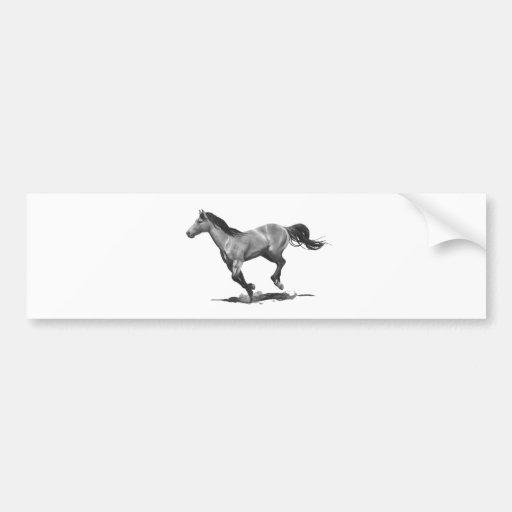 Cavalo: Funcionamento, galopando: Desenho de lápis Adesivo